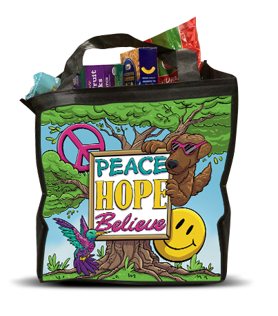 peace hope believe bag 3